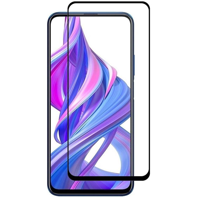 Купить Защитное стекло Full screen PowerPlant для Huawei Y7p, Black