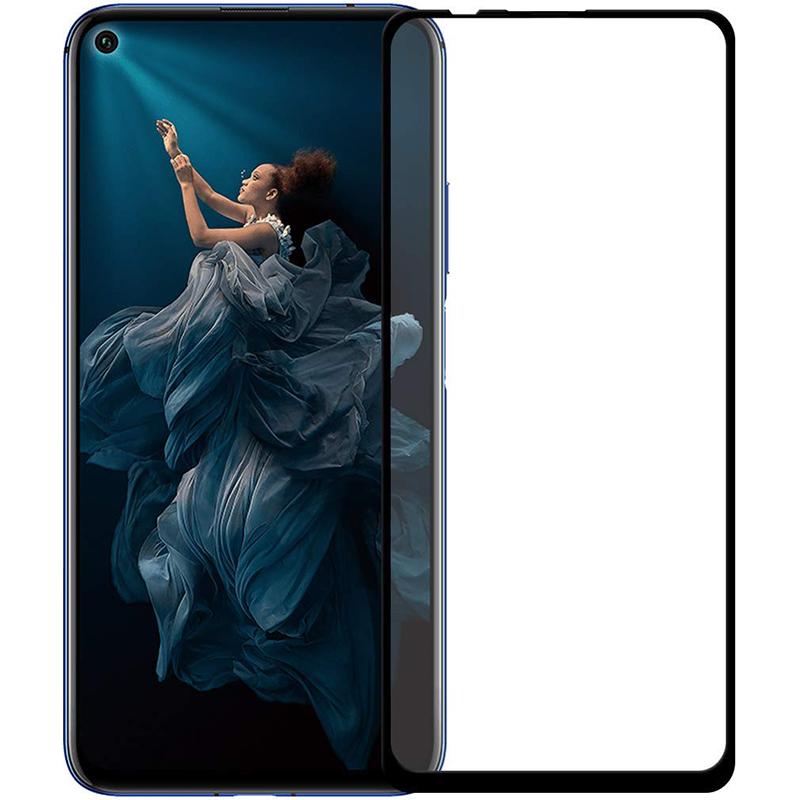Купить Защитное стекло Full screen PowerPlant для Huawei Nova 5T, Black