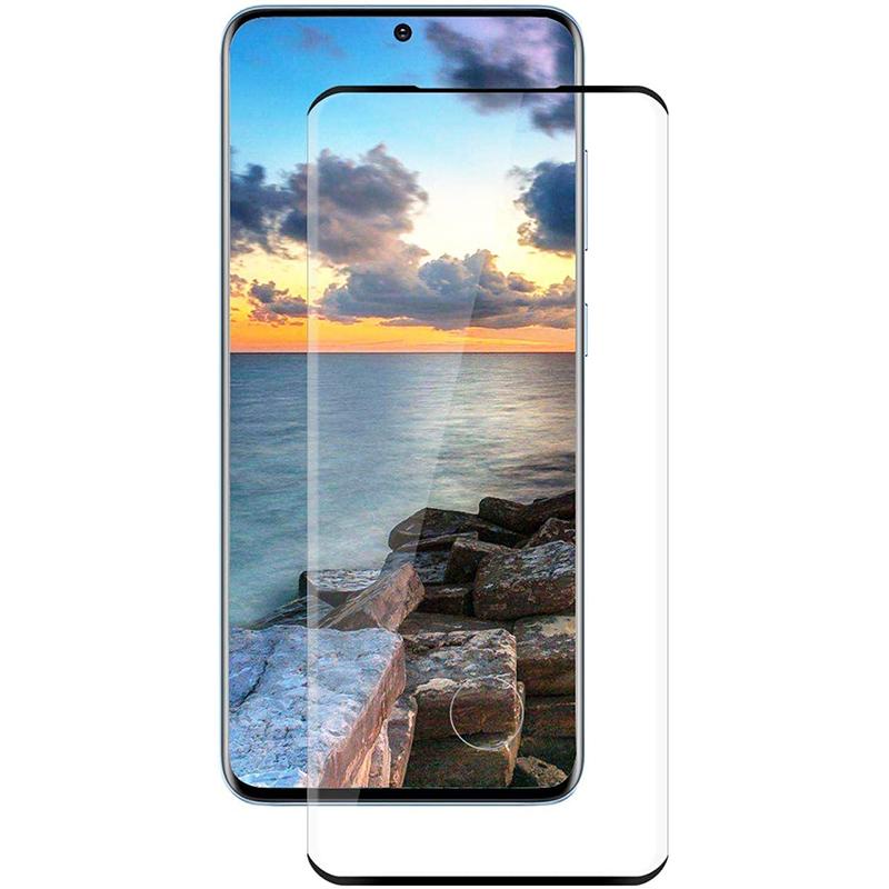 Купить Защитное стекло 3D PowerPlant для Samsung Galaxy S20 Ultra, Black