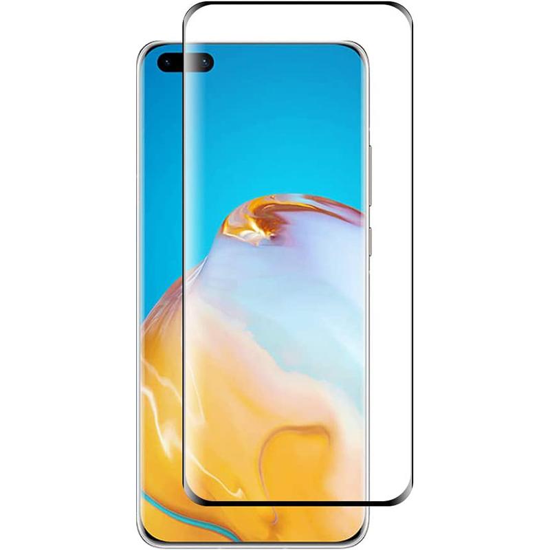 Купить Защитное стекло 3D PowerPlant для Huawei P40 Pro