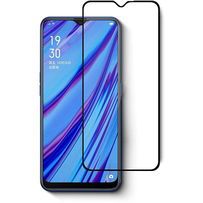 Купить Защитное стекло Full screen PowerPlant для Realme C3