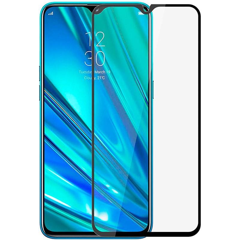 Купить Защитное стекло Full screen PowerPlant для Realme 5