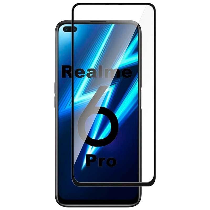Купить Защитное стекло Full screen PowerPlant для Realme 6 Pro