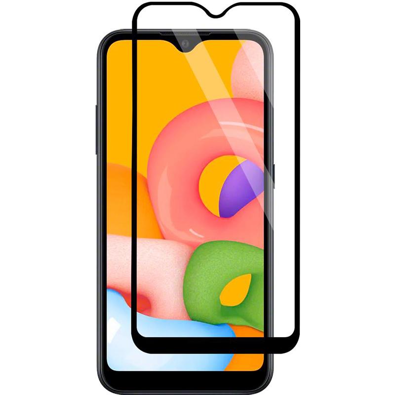 Купить Защитное стекло Full screen PowerPlant для Samsung Galaxy A01 2020 (A015F)
