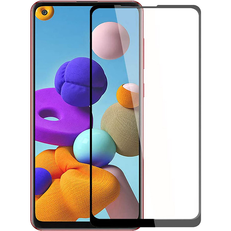 Купить Защитное стекло Full screen PowerPlant для Samsung Galaxy A21s 2020 (A217F)
