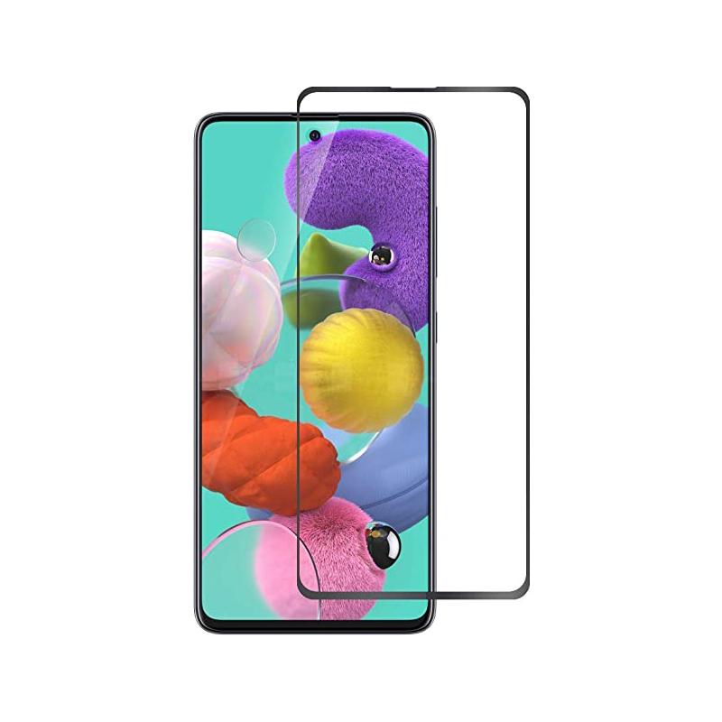 Купить Защитное стекло Full screen PowerPlant для Samsung Galaxy A51 2020
