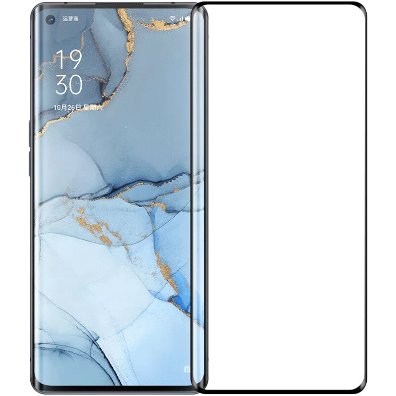 Купить Защитное стекло Full screen PowerPlant для Oppo Reno 3 Pro