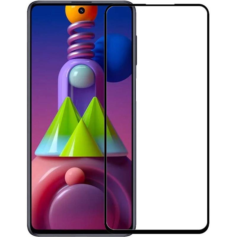 Купить Защитное стекло Full screen PowerPlant для Samsung Galaxy M51, Black