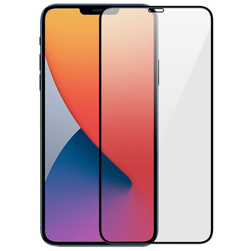 Купить Защитное стекло Full screen PowerPlant для Apple iPhone 12 mini, Black