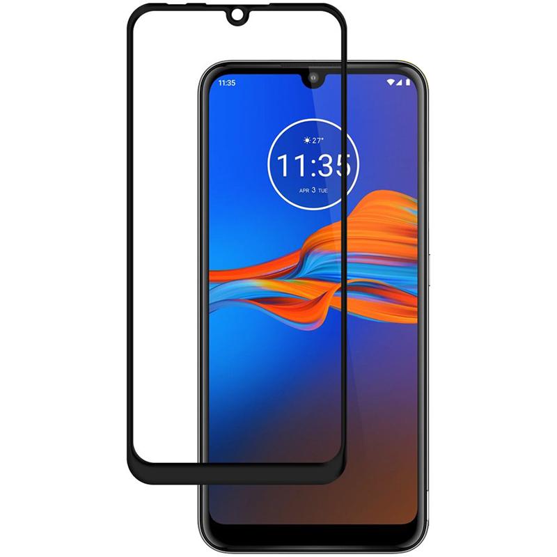 Купить Защитное стекло Full screen PowerPlant для Motorola Moto E6 Plus, Black