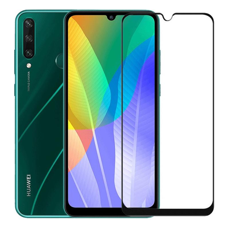 Купить Захисне скло Full screen PowerPlant для Huawei Y6p, Black
