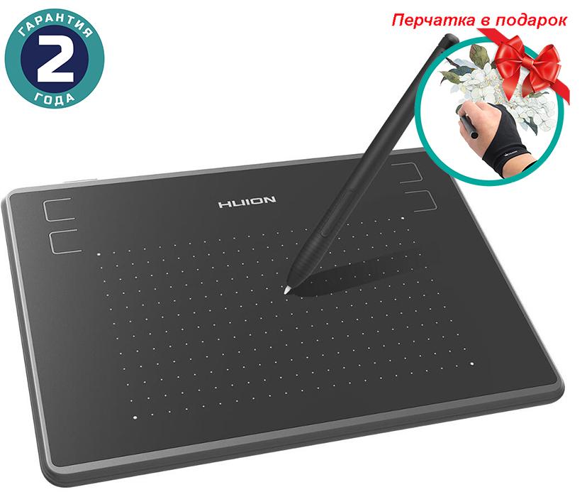 Купить Графический планшет Huion Inspiroy H430P + перчатка