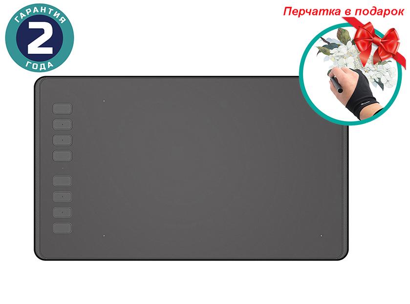 Купить Графический планшет Huion Inspiroy H950P + перчатка