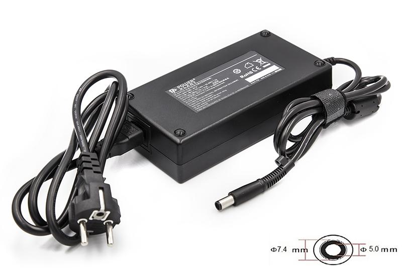 Купить Блок питания для ноутбуков PowerPlant HP 220V, 19V 180W 9.5A (7.4*5.0)