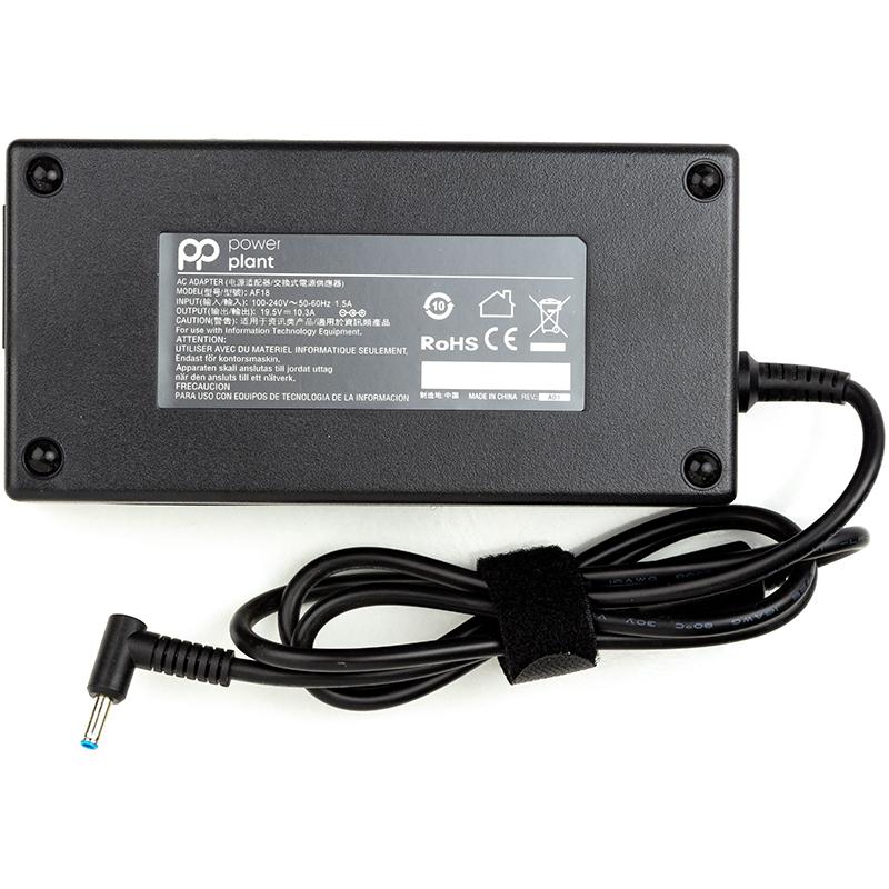 Купить Блок питания для ноутбуков PowerPlant HP 220V, 19.5V 200W 10.3A (4.5*3.0)