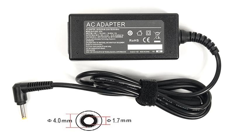 Купить Блок питания для ноутбуков PowerPlant HP 220V, 19V 40W 2.1A (4.0*1.7)