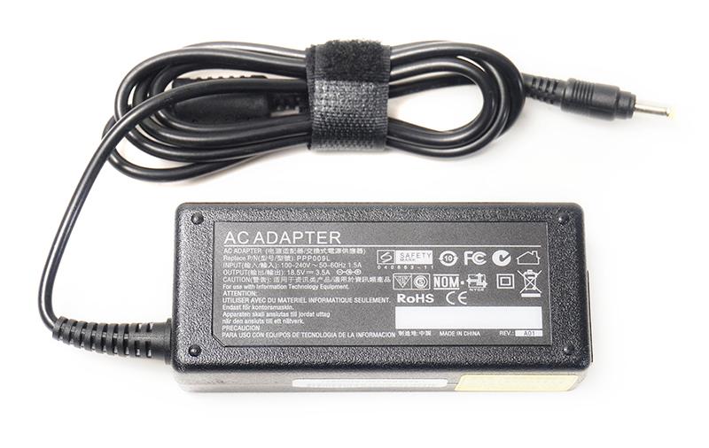 Купить Блок питания для ноутбуков PowerPlant HP 220V, 18.5V 65W 3.5A (4.8*1.7)