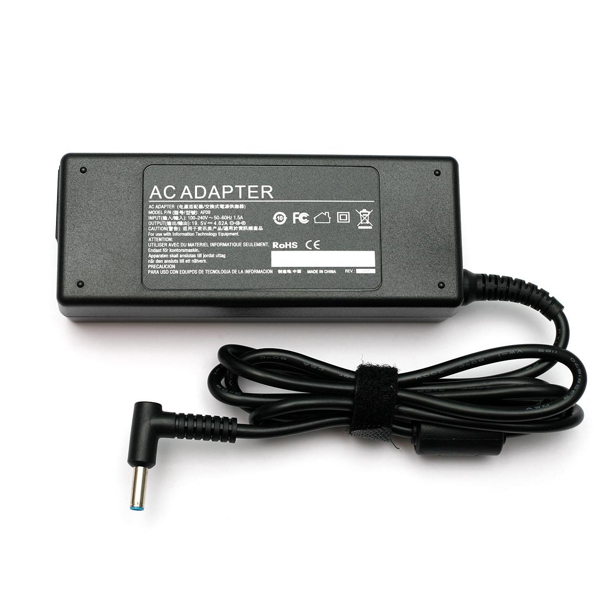Купить Блок питания для ноутбуков PowerPlant HP 220V, 19.5V 90W 4.62A  (4.5*3.0)