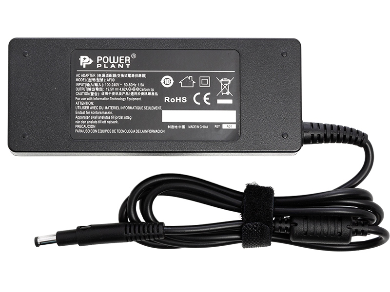 Купить Блок питания для ноутбуков PowerPlant HP 220V, 19.5V 90W 4.62A (4.8*1.7)