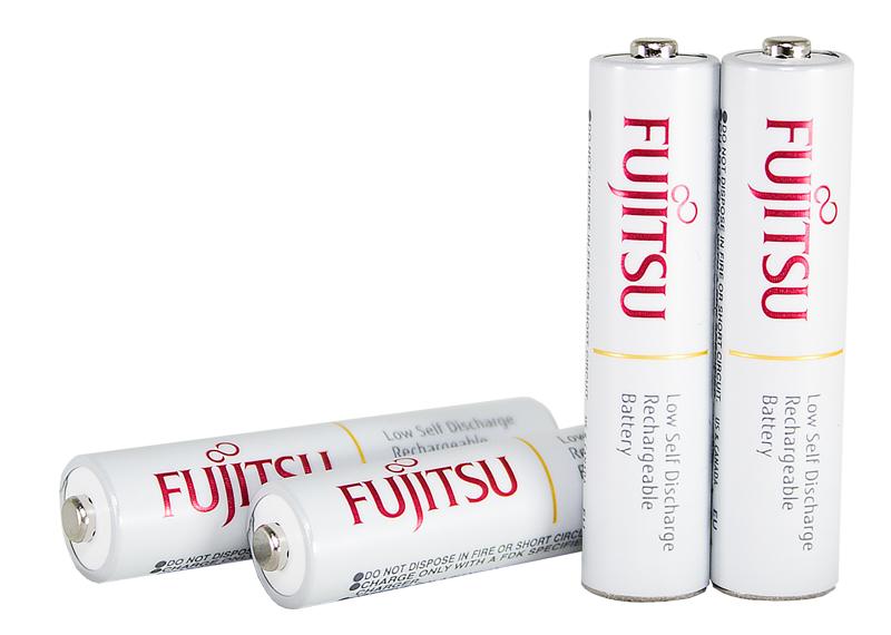 Купить Аккумуляторы FUJITSU AAA 750mAh Ni-Mh (HR-4UTC) 4шт