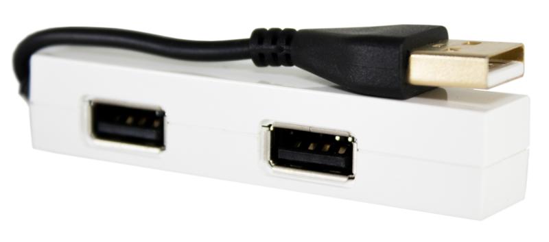 Купить PowerPlant USB - хаб 4 Ports
