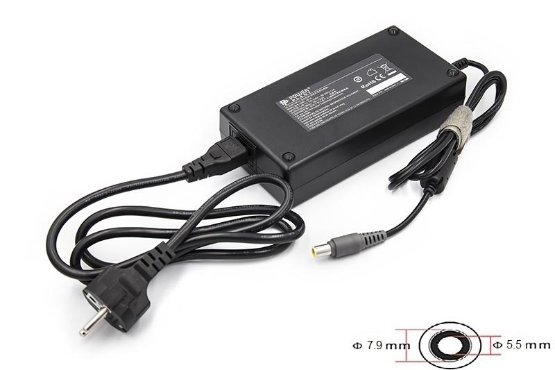 Купить Блок питания для ноутбуков PowerPlant IBM/LENOVO 220V, 170W 20V 8.5A (7.9*5.5)