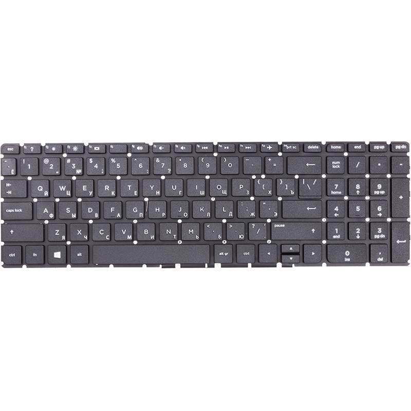 Купить Клавиатура для ноутбука HP 250 G4, 255 G4, 256 G4 черный, черный фрейм