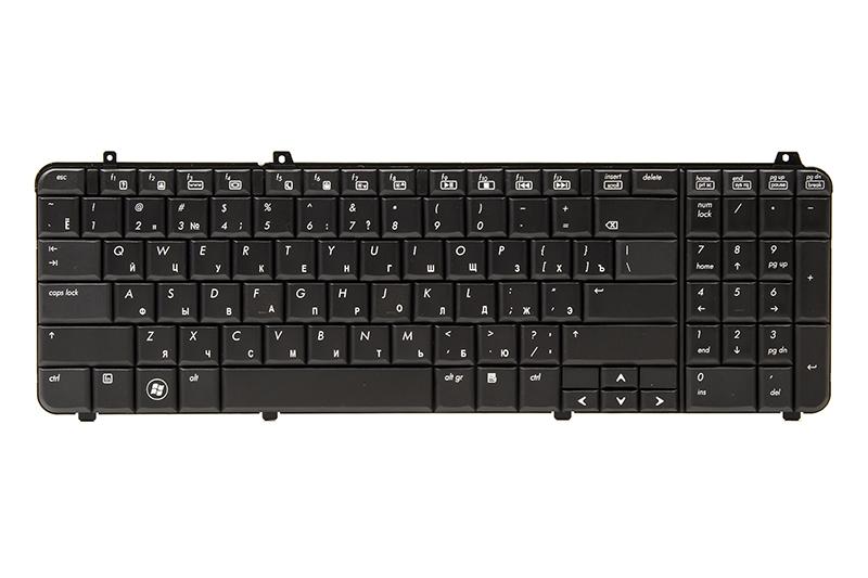 Купить Клавиатура для ноутбука HP Pavilion DV6-1000, DV6T-1000 черный, черный фрейм
