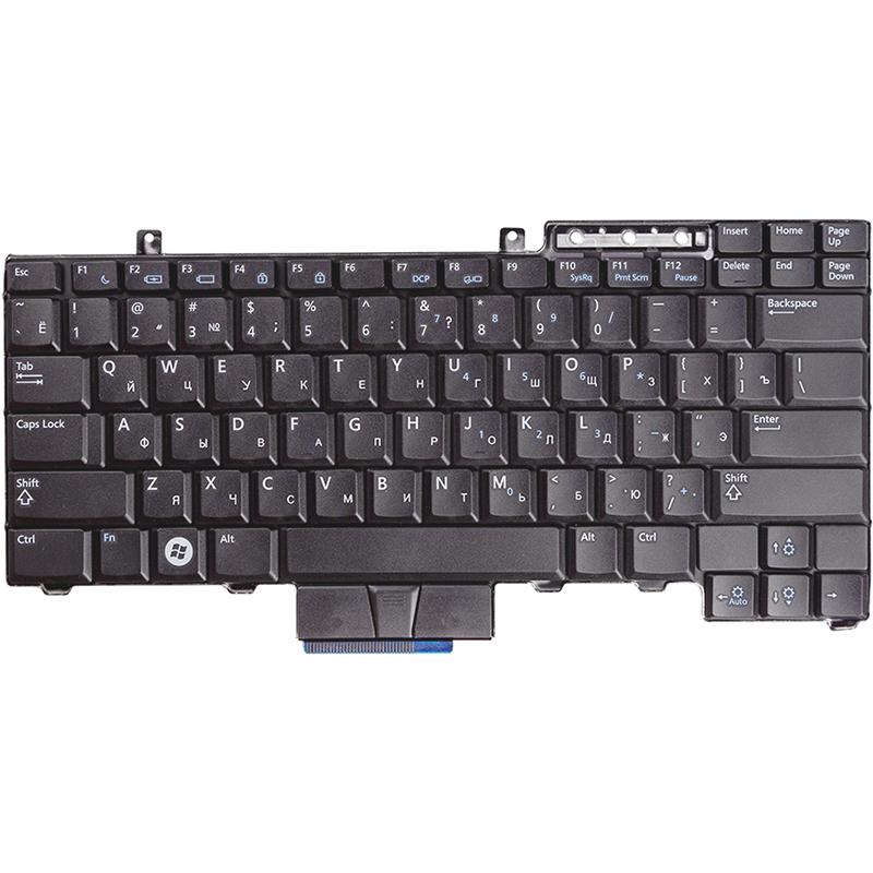Купить Клавиатура для ноутбука DELL Latitude E6400, E550 черный