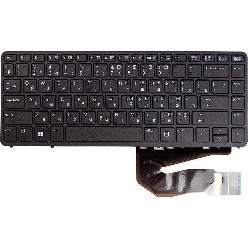 Купить Клавиатура для ноутбука HP EliteBook 840 G1, 850 G1 черный, черный фрейм