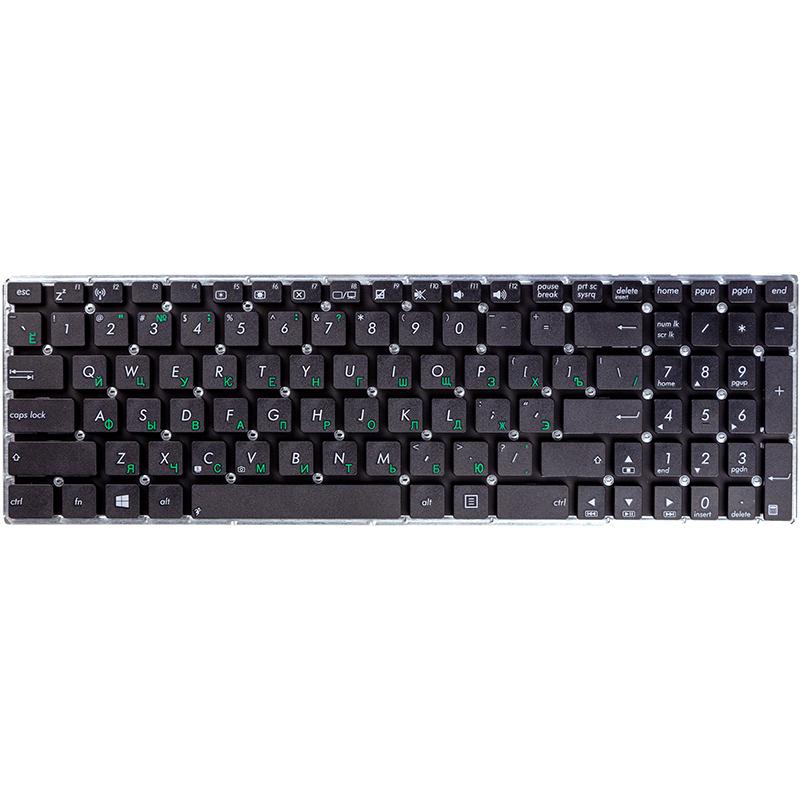 Купить Клавиатура для ноутбука ASUS X556, X556U черный