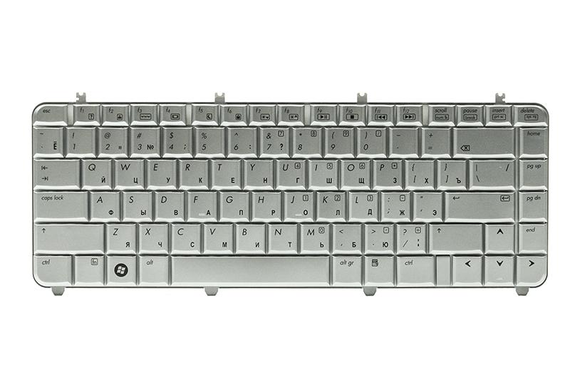 Купить Клавиатура для ноутбука HP Pavilion DV5, DV5T, DV5-1000 серебристый, серебристый фрейм