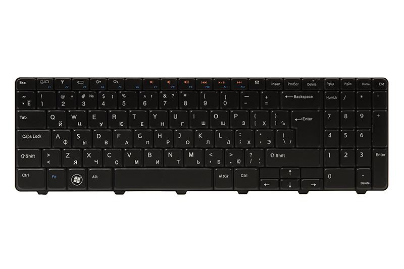 Купить Клавиатура для ноутбука DELL Inspiron N5010 черный, черный фрейм (big Enter)