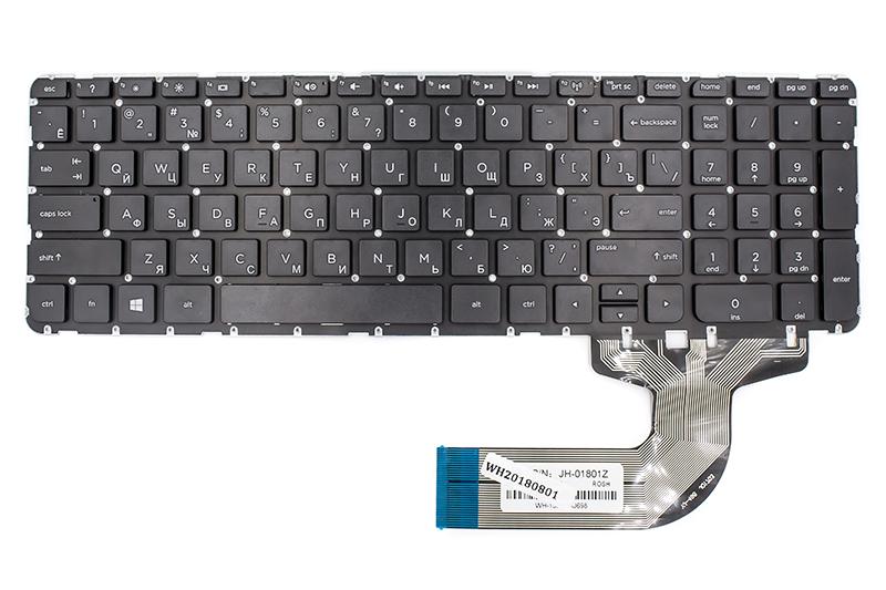 Купить Клавиатура для ноутбука HP Pavilion SleekBook 15-E черный, без фрейма