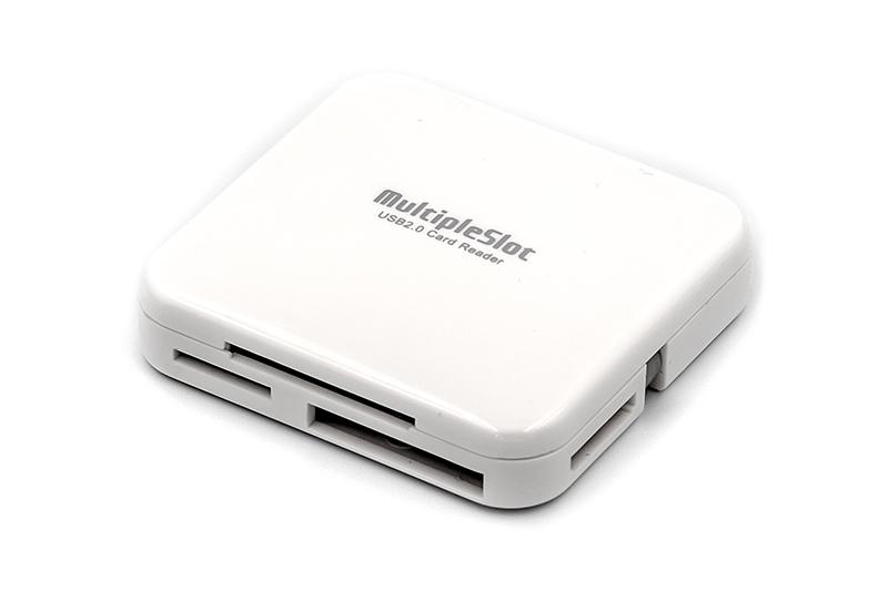 Купить Кардридер PowerPlant USB 2.0 (All in 1) 6 слотов