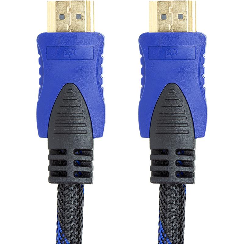 В наличии - Видео кабель PowerPlant HDMI - HDMI, 3м, позолоченные коннекторы, 1.3V, Nylon, Double ferrites цена, характеристики