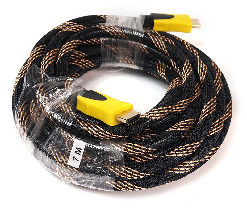 В наличии - Видео кабель PowerPlant HDMI - HDMI, 7м, позолоченные коннекторы, 1.3V, Nylon цена, характеристики