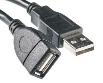 Купить Кабель PowerPlant USB 2.0 AF – AM, 5м, One ferrite