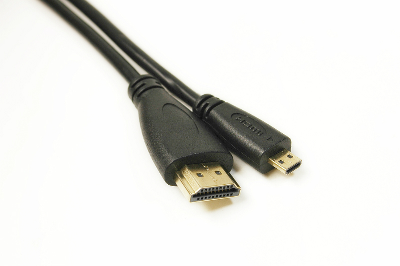 Купить Видео кабель PowerPlant HDMI - micro HDMI, 2м, позолоченные коннекторы, 1.4V