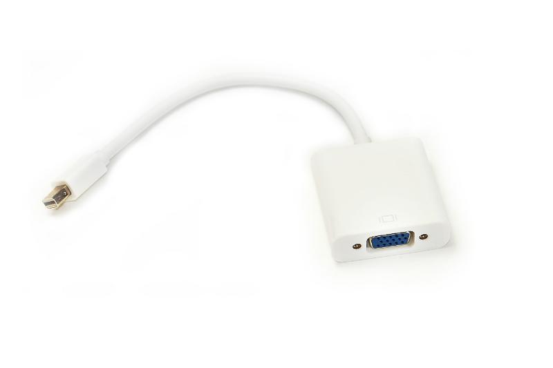 Купить Кабель-переходник PowerPlant Mini DisplayPort - VGA, 0.15м