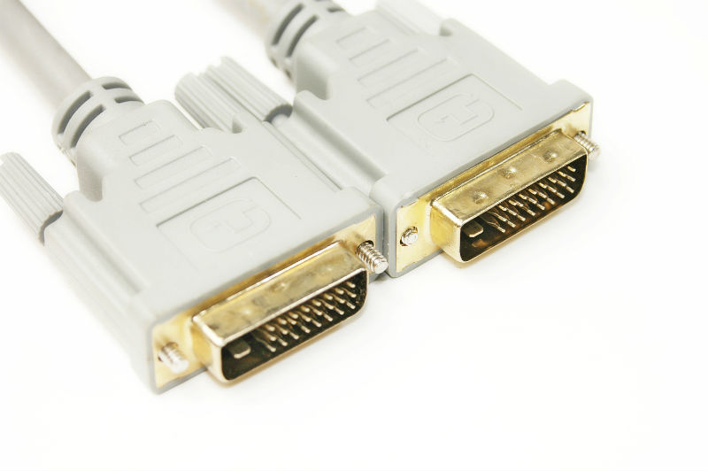 Купить Видео кабель PowerPlantDVI-D 24M-24M, 1.5м, Double ferrites