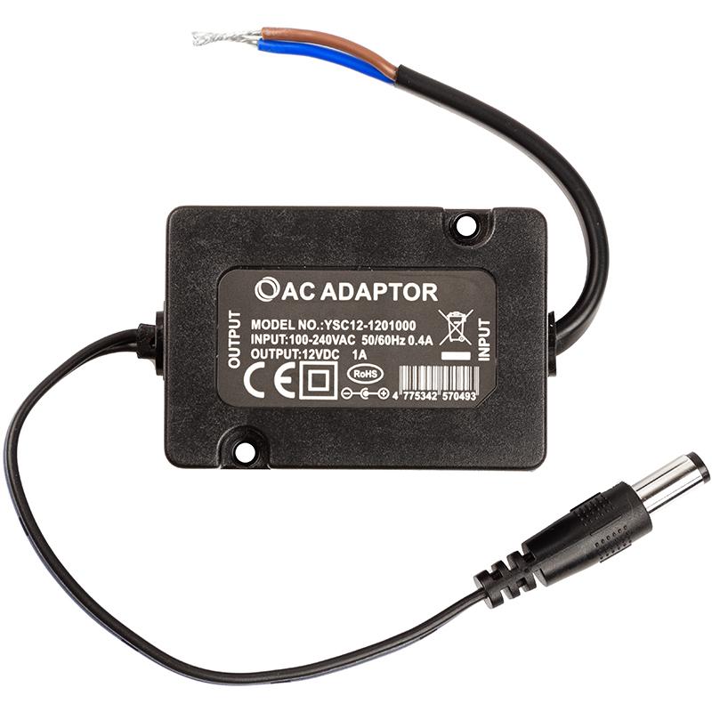 Купить Блок питания для камер видеонаболюдения (зарядное устройство) PowerPlant 12V 1A