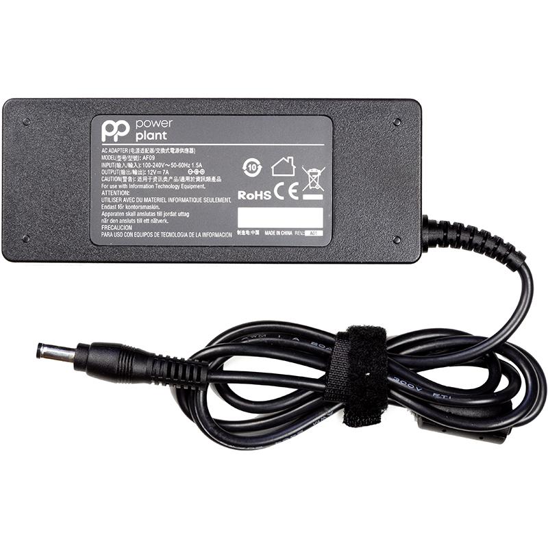 Купить Блок питания для камер видеонаболюдения (зарядное устройство) PowerPlant 220V, 12V 84W 7A (5.5*2.1)