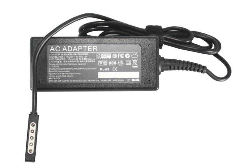В наличии - Блок питания для планшетов (зарядное устройство) PowerPlant MICROSOFT 220V, 12V 45W 3.6A (5pin) цена, характеристики