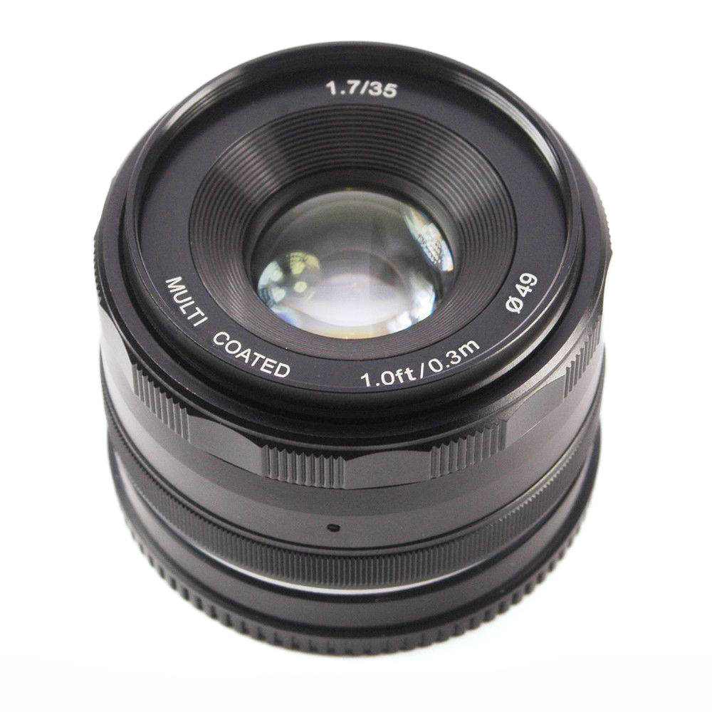 Купить Объектив Meike 35mm f/1.7 MC E-mount для Sony