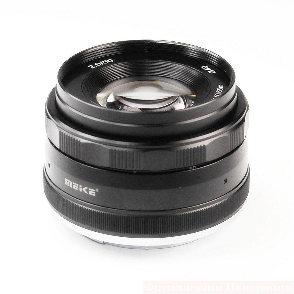 Купить Объектив Meike 50mm f/2.0 MC E-mount для Sony