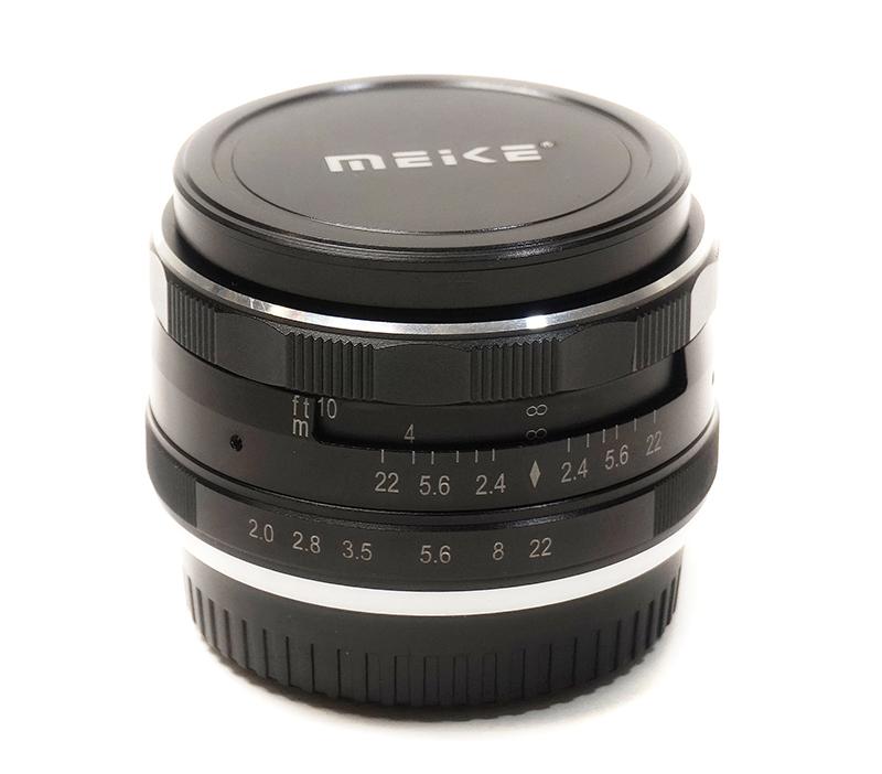 Купить Объектив Meike 50mm f/2.0 MC FX-mount для Fujifilm