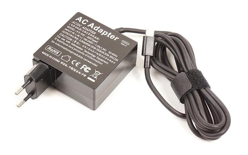Купить Универсальный блок питания для ноутбуков PowerPlant 220V, 20V 3.25A Type-C