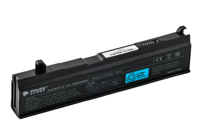 Купить Аккумулятор PowerPlant для ноутбуков TOSHIBA Satellite M40 (PA3399-1BAS, TO33993S2P) 10.8V 5200mAh