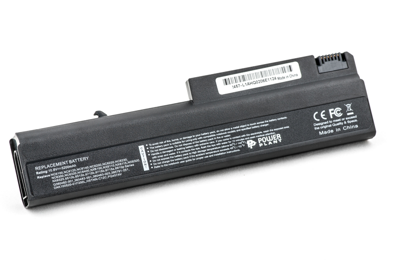 Купить Аккумулятор PowerPlant для ноутбуков HP Business Notebook 6510b (HSTNN-UB08) 10.8V 5200mAh